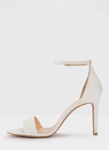 Aldo Piliria-Tr - Beyaz Kadin Topuklu Sandalet Kahve